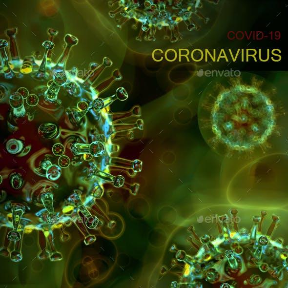 Corona Virus Background