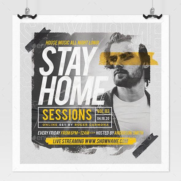 Online Music Show Flyer