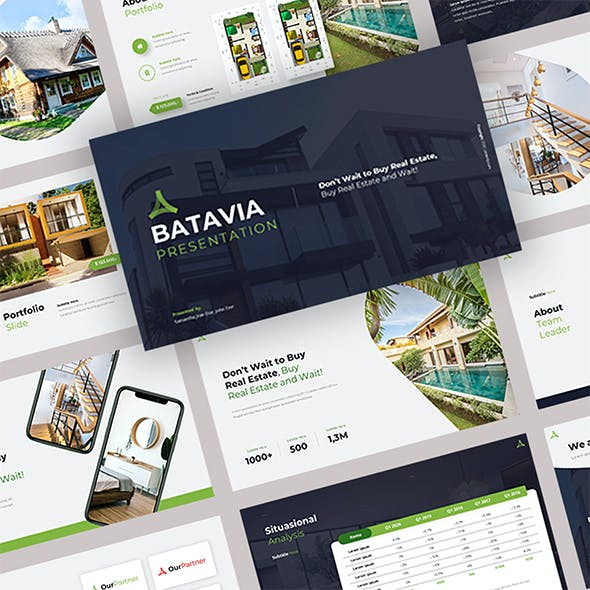 Batavia- Real Estate Keynote Templates