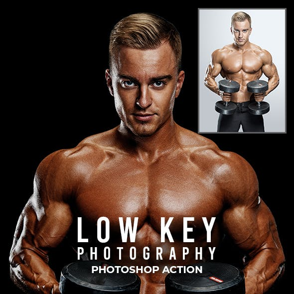 Low Key Photography - Photoshop Action