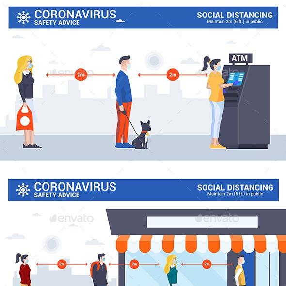 Social Distancing and Coronavirus