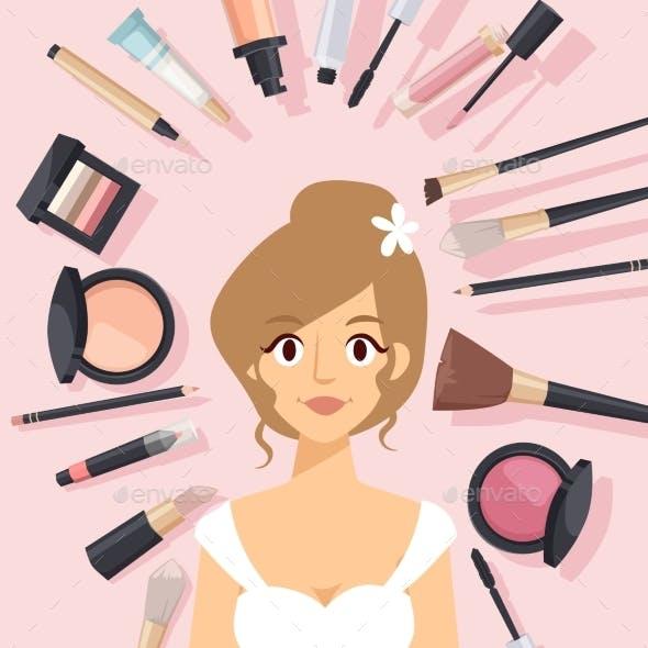 Cosmetic Catalog Graphics Designs