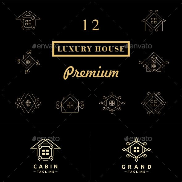 Luxury House Badges and Logos