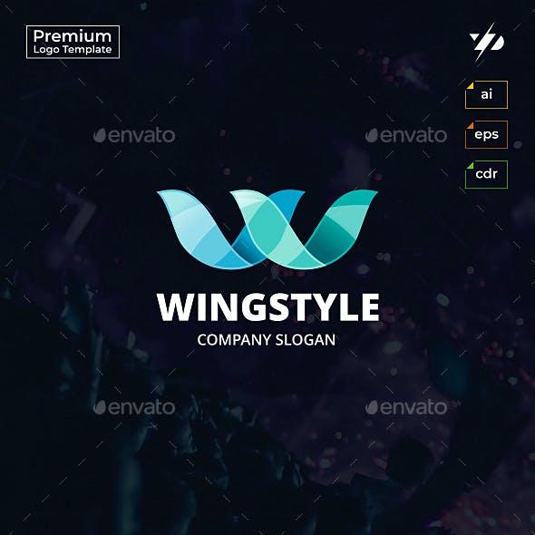 Wings Letter W