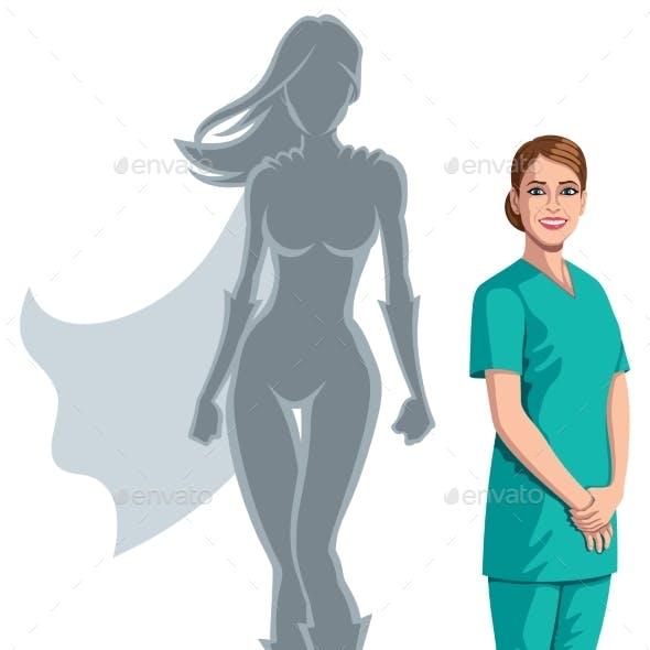 Nurse Superheroine Shadow