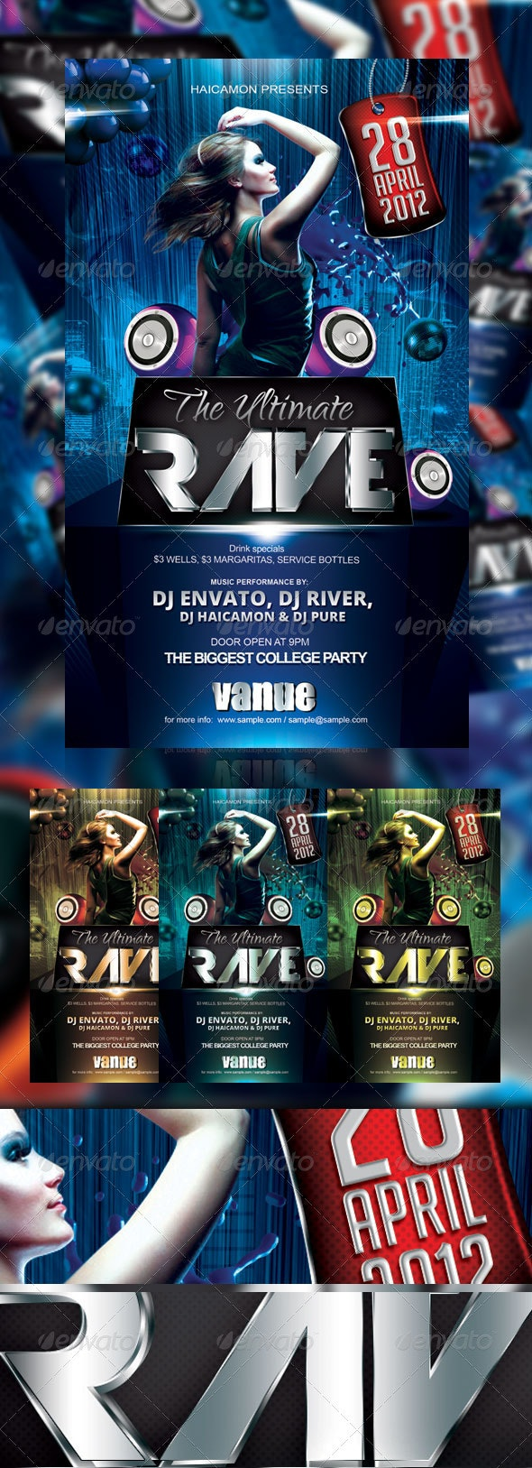 The Ultimate Party Flyer - Events Flyers