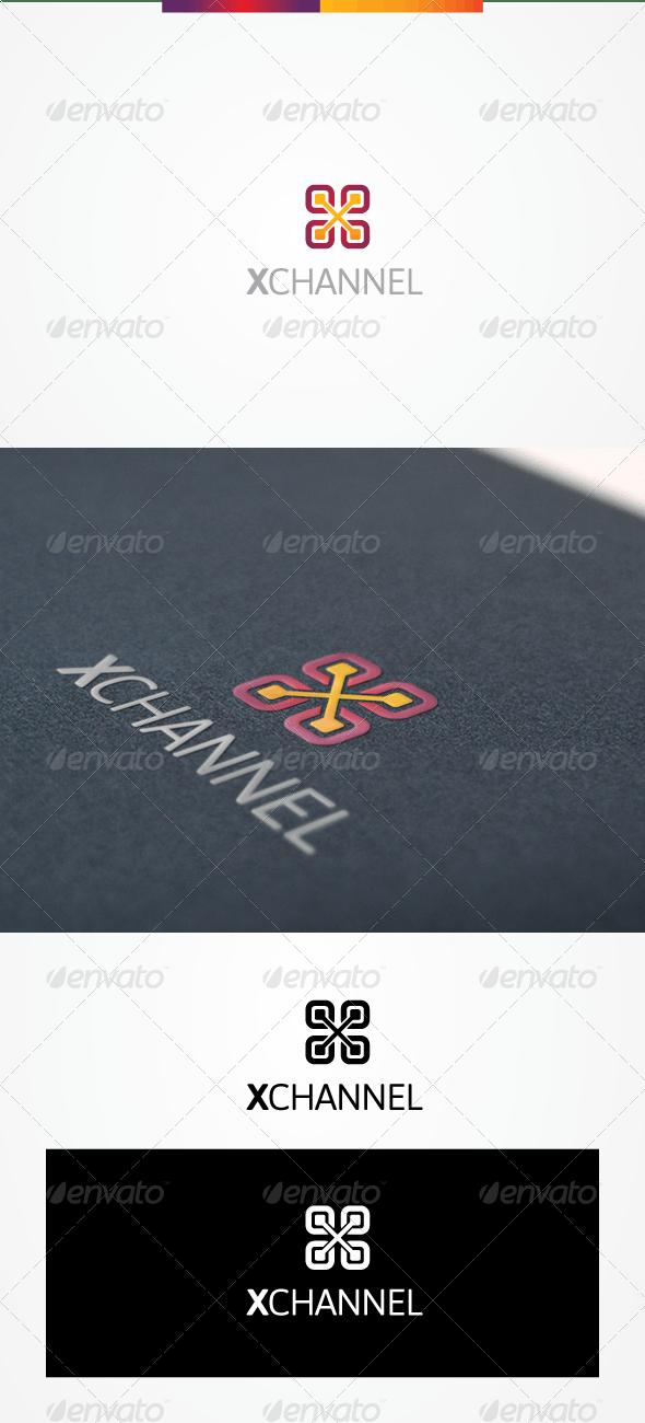 XChannel - Letters Logo Templates