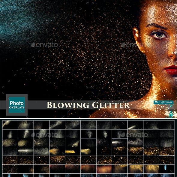 135 Glitter Overlays
