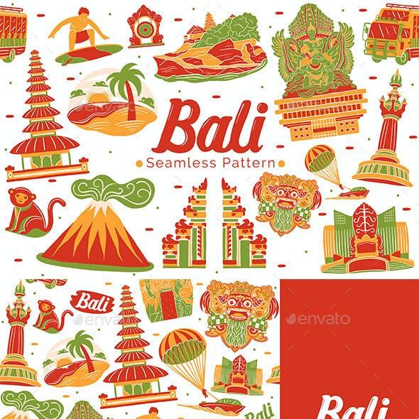 Bali Seamless Pattern