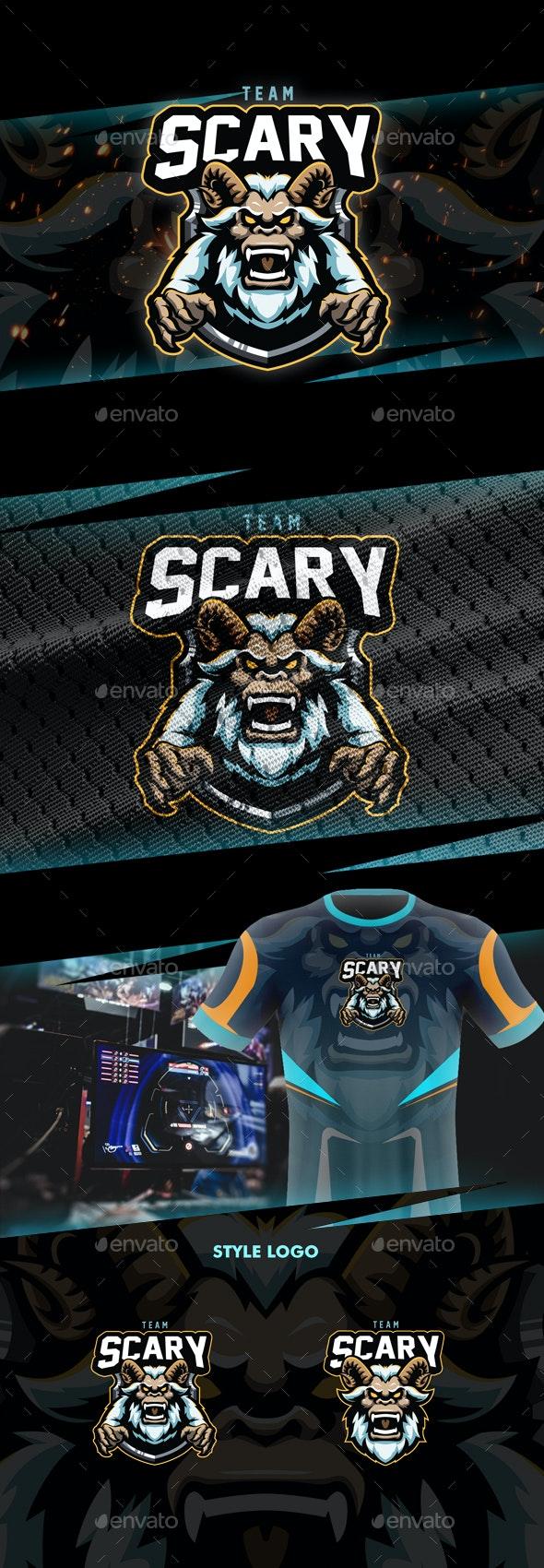 Scary Esport Logo