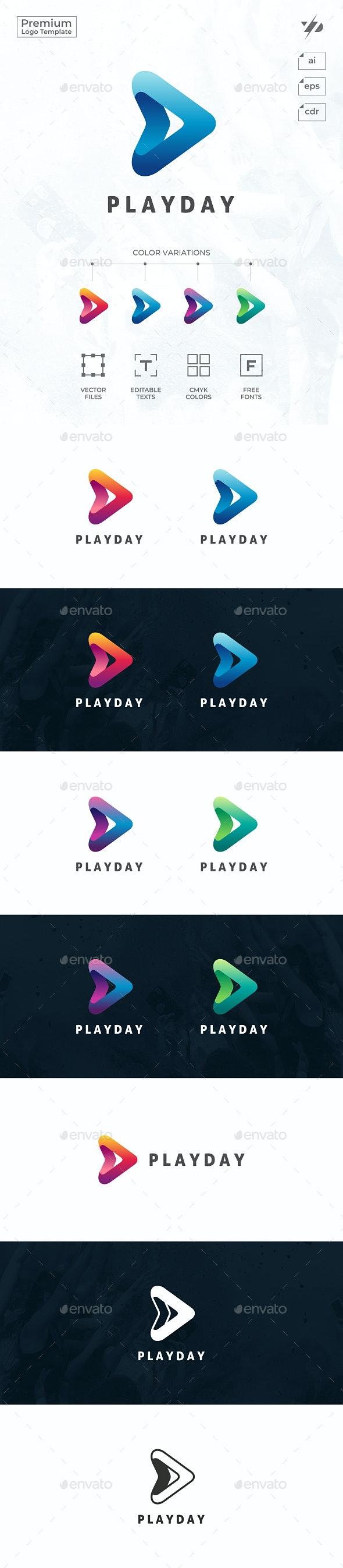 Play - Symbols Logo Templates