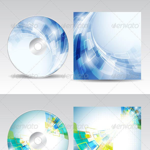 CD cover design pack 2