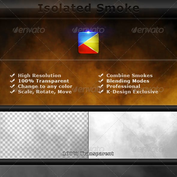 Isolated Smoke FX Elements - 2