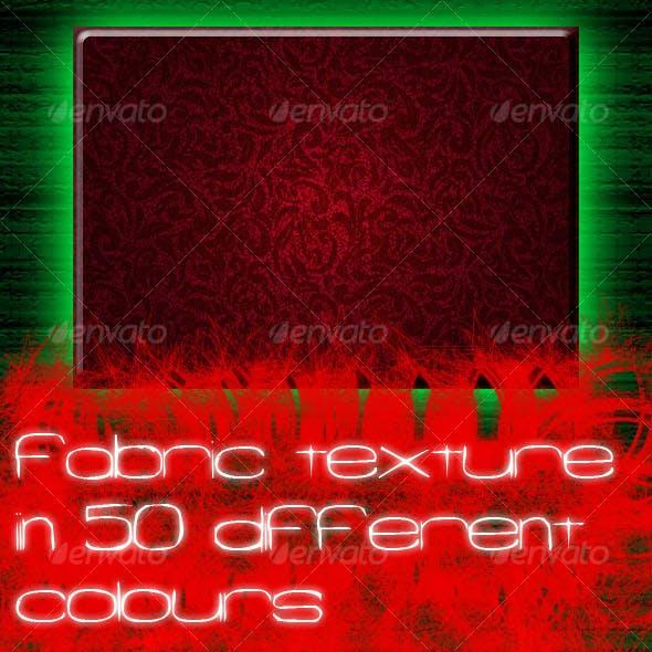 Hi-Res Fabric Texture Pack-50 Color Variations