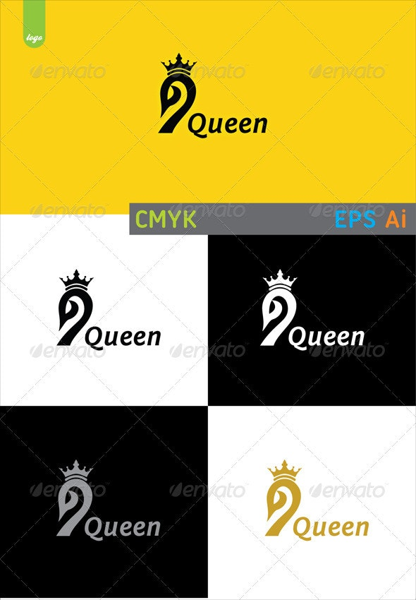 Swan Queen - Animals Logo Templates