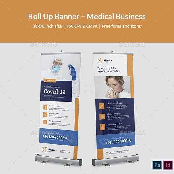 Roll Up Banner – Medical Business