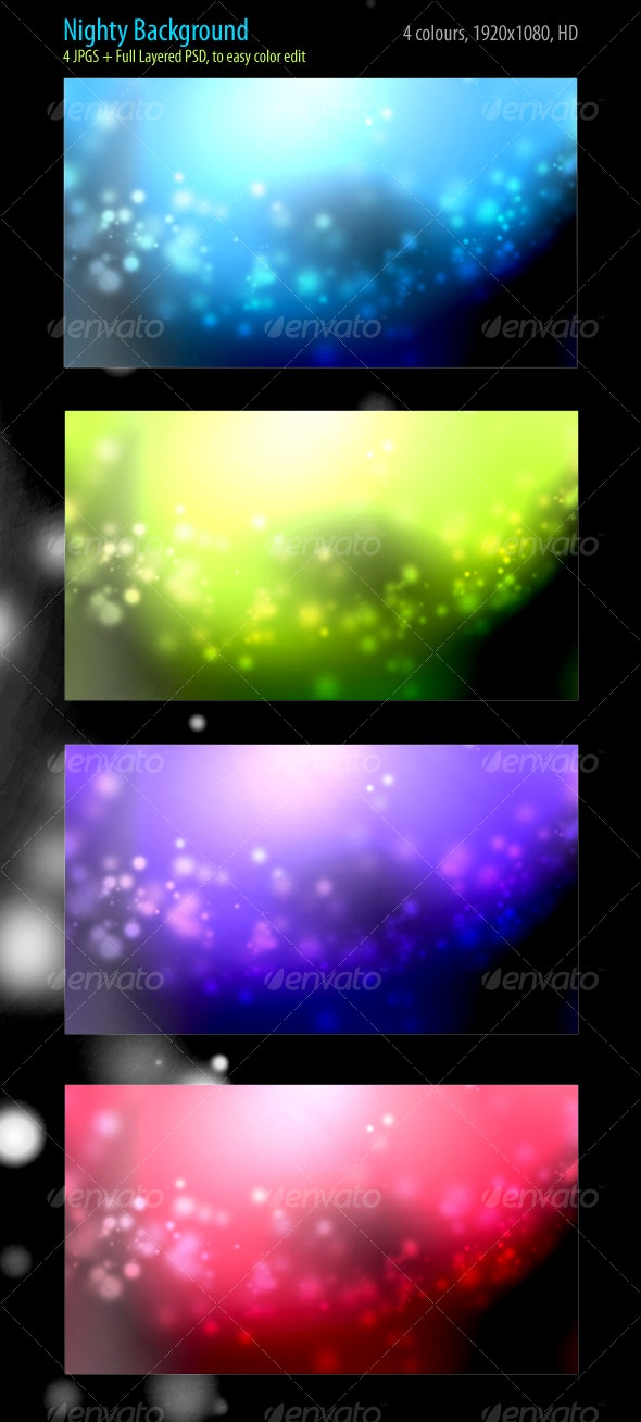 Nighty Backgrounds - Abstract Backgrounds