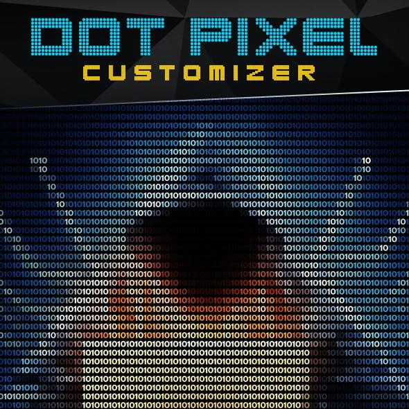 Dot Pixel Customizer - Photoshop Action