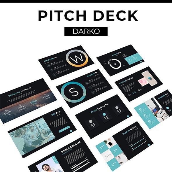 Darko Pitch Deck Template (PPTX)