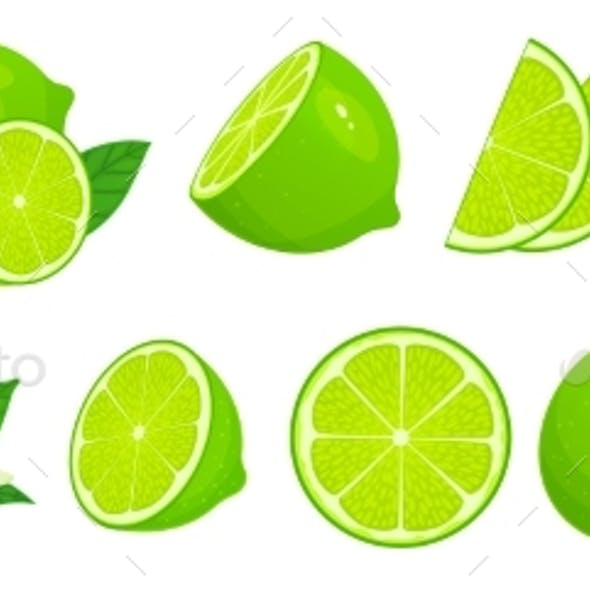 Cartoon Limes