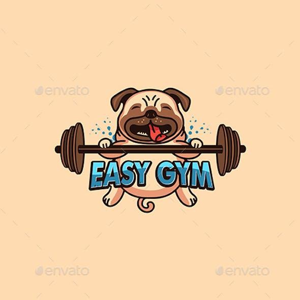 Sport Pug Emblem