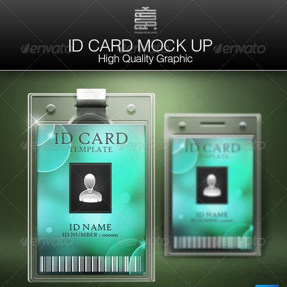 ID Card Mock up