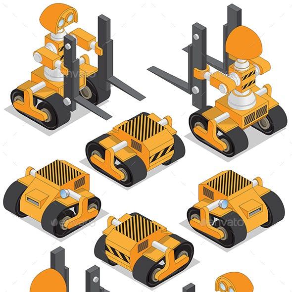 Set of Robotic Loaders