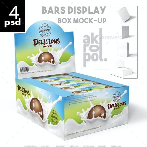 Bars Display Box Mock-up