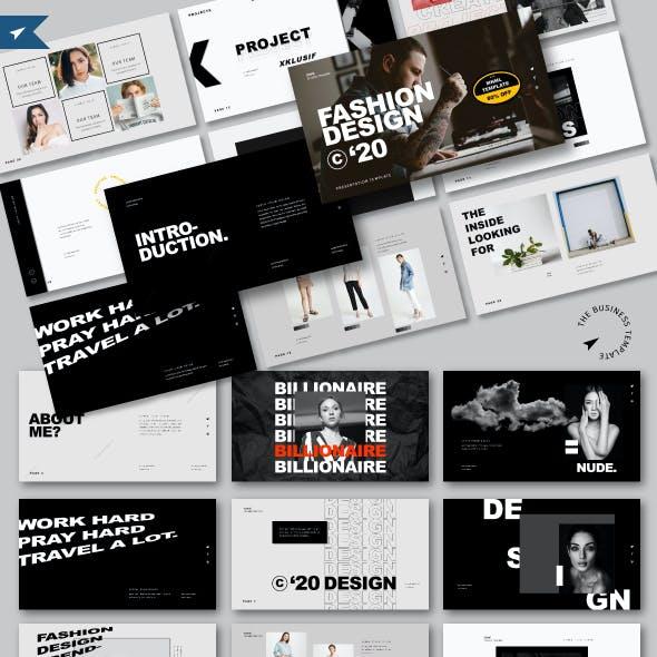 FASHION DESIGN 2020 - Business Keynote Template