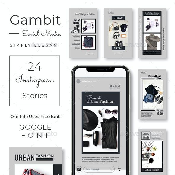 Gambit Instagram Stories