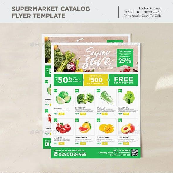 Supermarket Flyer / Grocery Ads Flyer Promotion