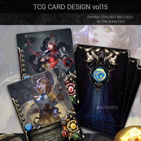 TCG Card Design Vol 15