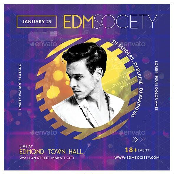 EDM Society Flyer