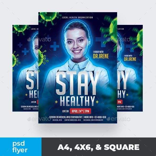 Healthy Body Medical Flyer