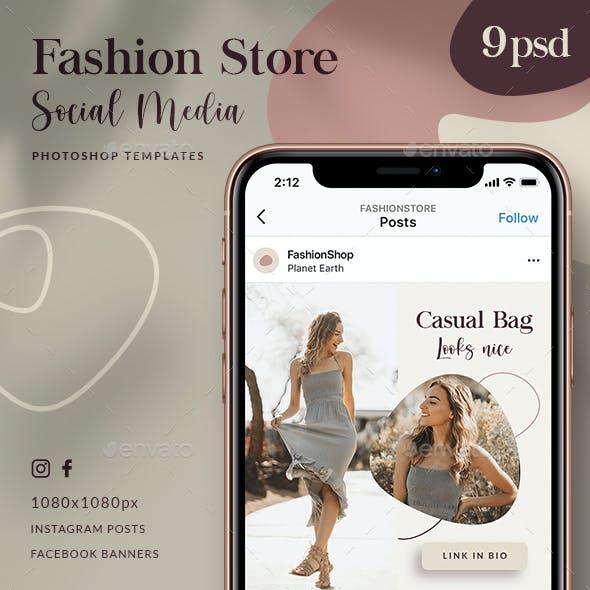Fashion Store - Social Media Posts