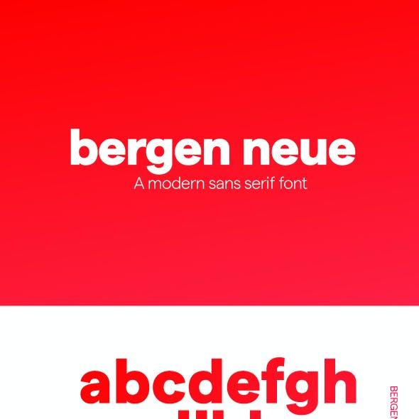 Bergen Neue Sans