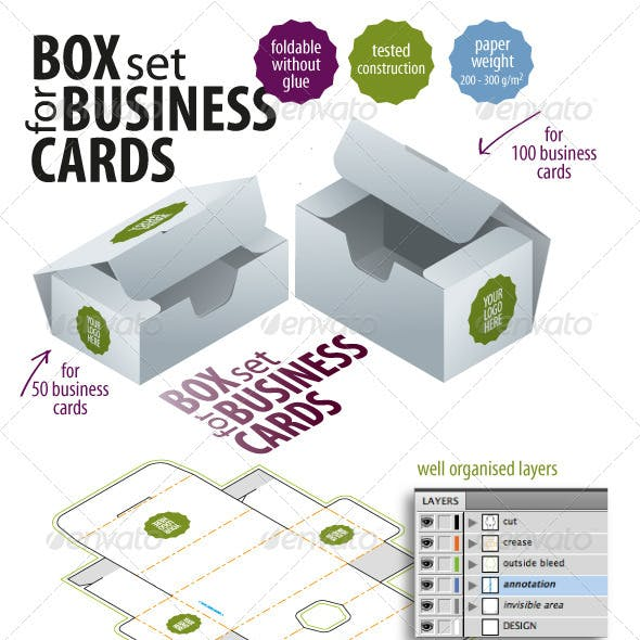 Packaging Templates from GraphicRiver
