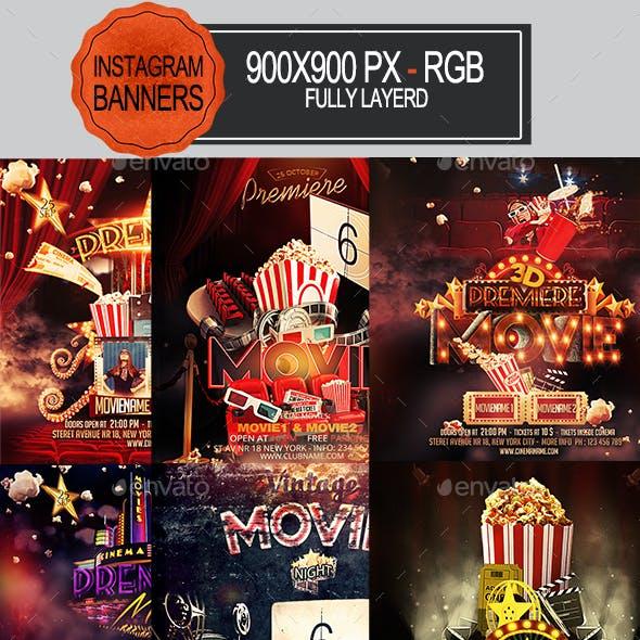 Movie Instagram Banners
