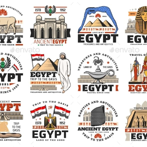 Ancient Egypt Icons