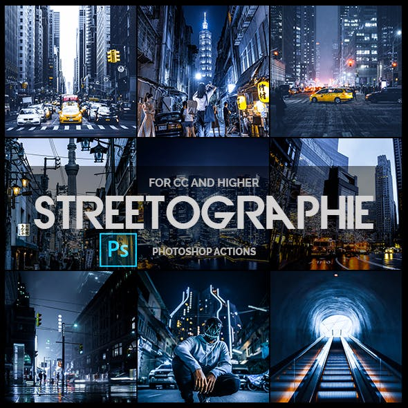 Streetographie - Pro Photoshop Actions
