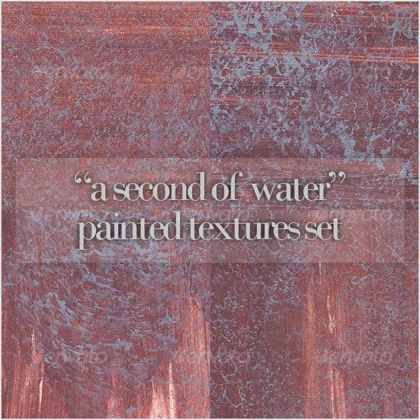"""A second of water"" paint texture set - Art Textures"
