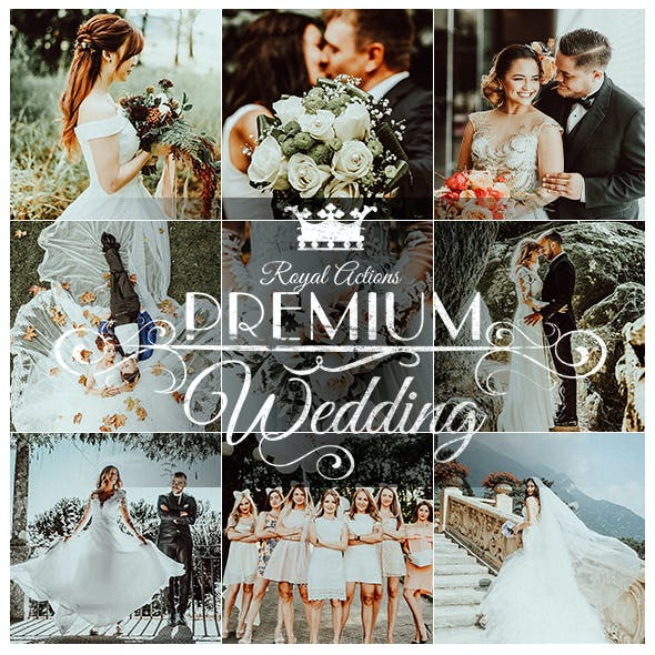 Royal Wedding Photoshop Actions