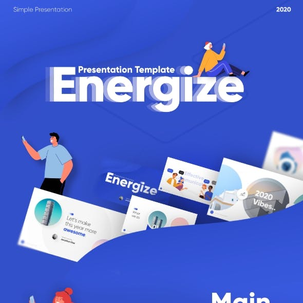 Energize Powerpoint Presentation Template Fully Animated