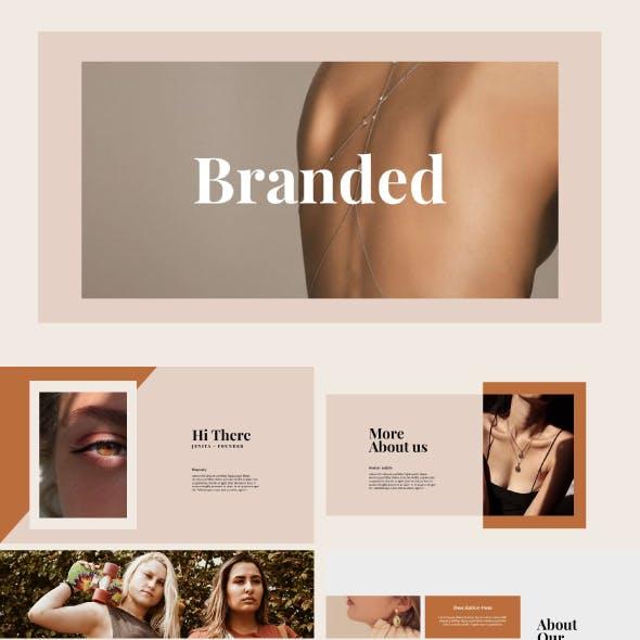 Branded - Fashion Presentation Template