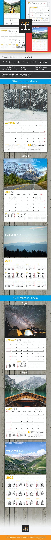 Wall Calendar 2021 (WC027)