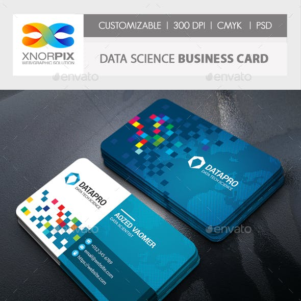 Data Science Business Card