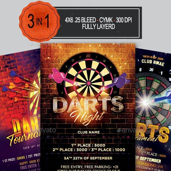 Darts Flyer Bundle