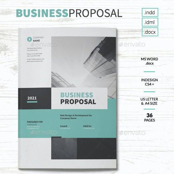 Ms Word Proposal Stationery And Design