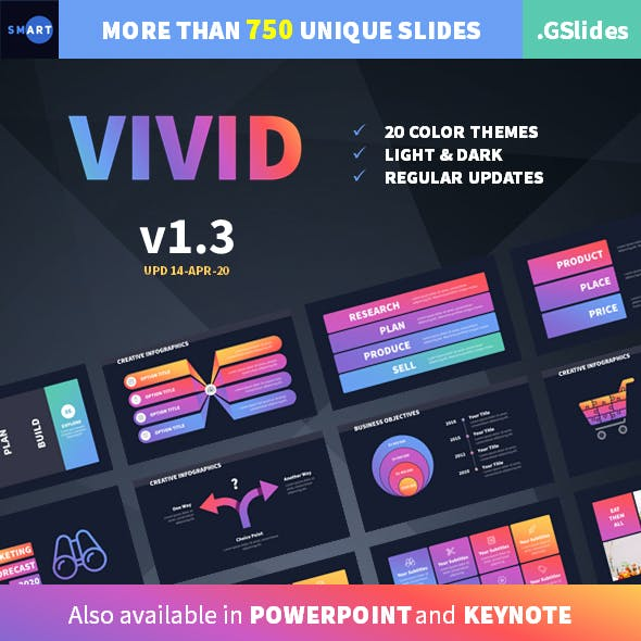 VIVID Google Slides Presentation Template