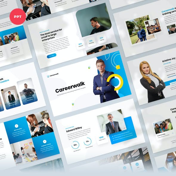 Human Resources & Recruiting PowerPoint Template
